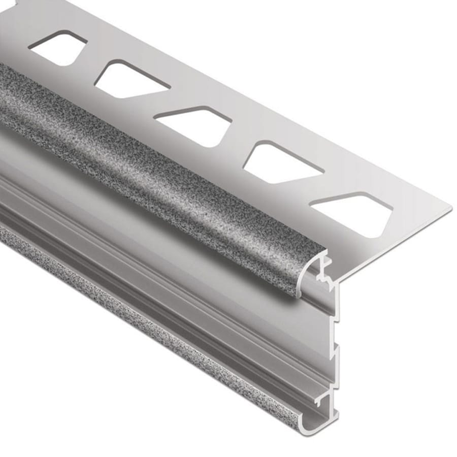 Schluter Systems Rondec-CT 0.375-in W x 98.5-in L Aluminum Tile Edge Trim
