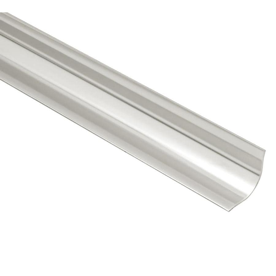 Schluter Systems Eck-KHK 0.563-in W x 79-in L Steel Tile Edge Trim