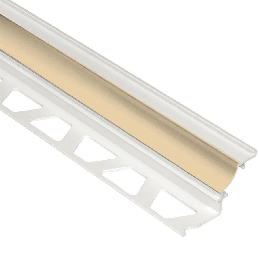 Schluter Systems Dilex-PHK 0.5-in W x 98.5-in L PVC Tile Edge Trim