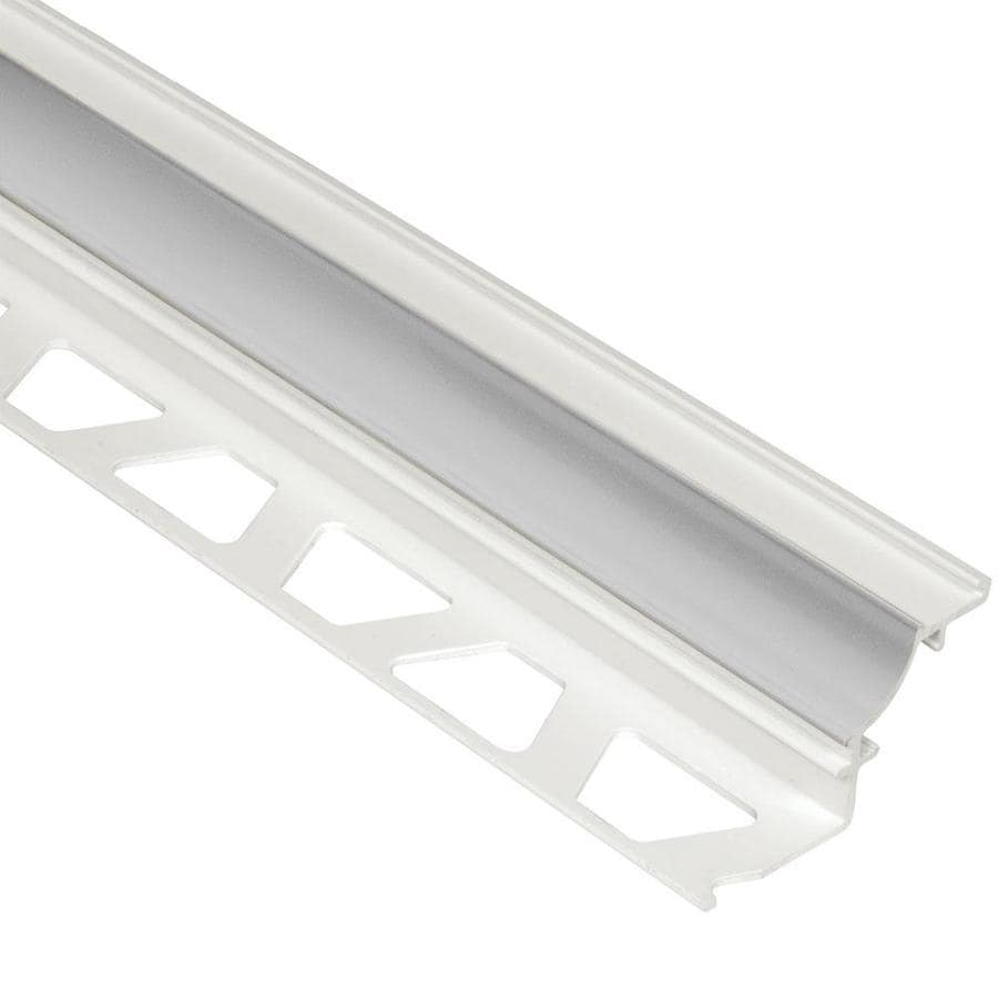 Schluter Systems Dilex-PHK 0.313-in W x 98.5-in L PVC Tile Edge Trim