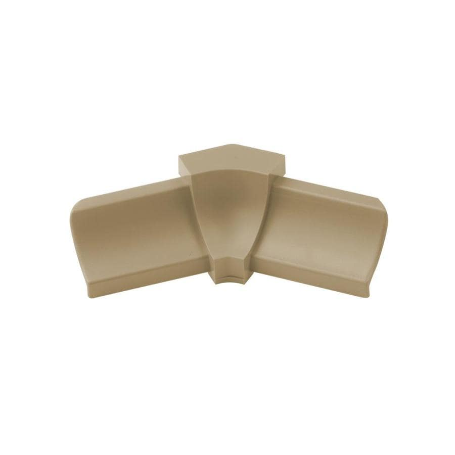 Schluter Systems Dilex-PHK 0.5-in W x 1-in L PVC Commercial/Residential Tile Edge Trim