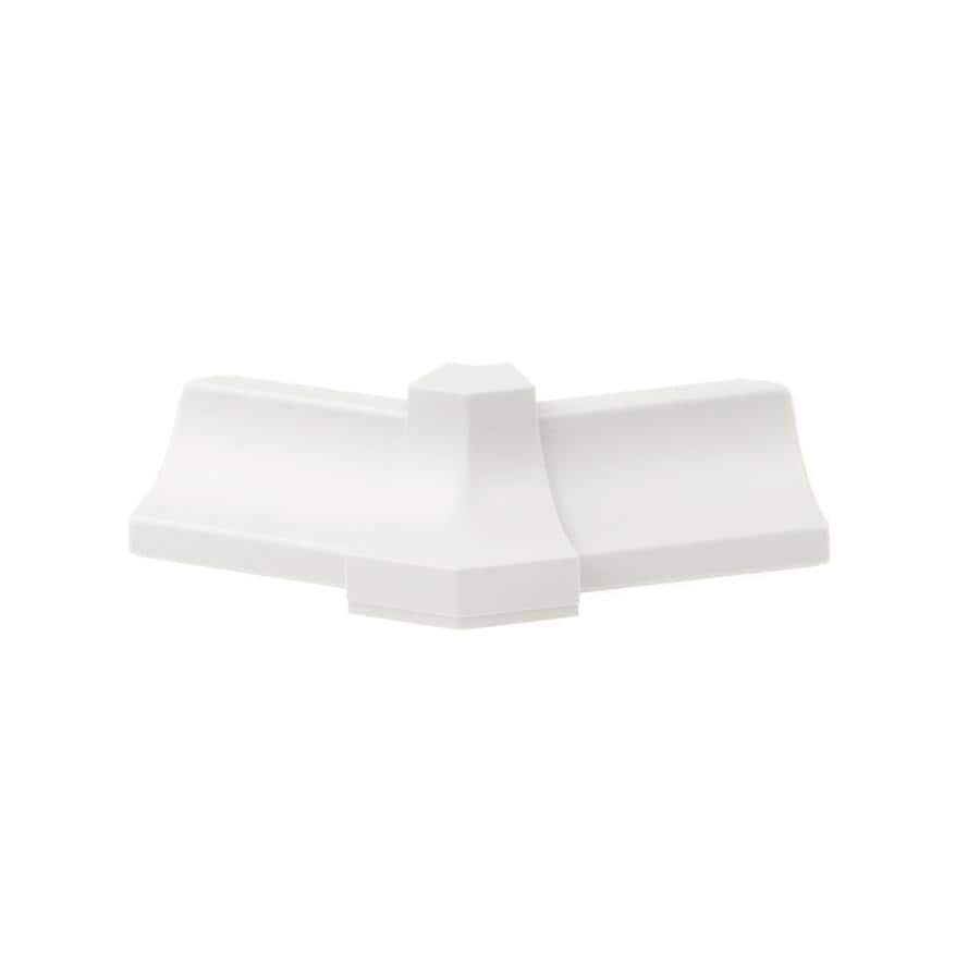Schluter Systems Dilex-PHK 0.5-in W x 1-in L PVC Tile Edge Trim