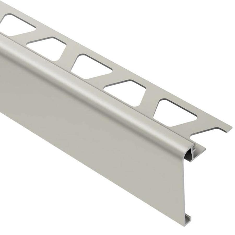 Ordinaire Schluter Systems Rondec Step 0.375 In W X 98.5 In L Aluminum Tile