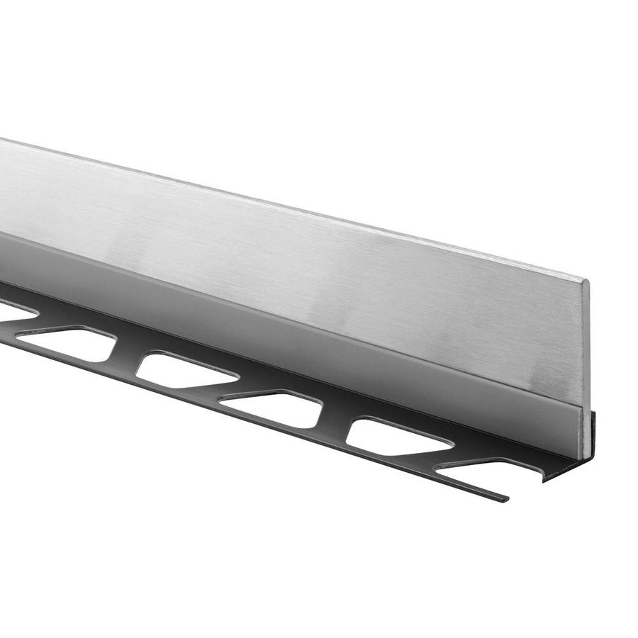 Schluter Systems 0.188-in W x 47.25-in L Steel Commercial/Residential Tile Edge Trim