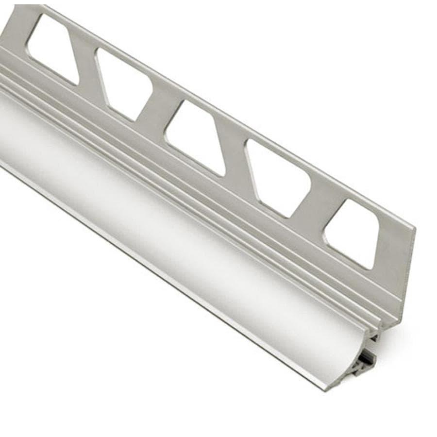 Schluter Systems Dilex-AHKA 0.375-in W x 98.5-in L Aluminum Tile Edge Trim