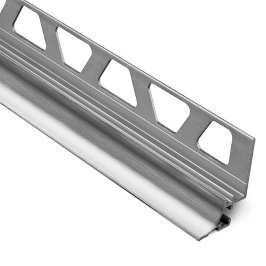 Schluter Systems Dilex-AHKA 0.313-in W x 98.5-in L Aluminum Commercial/Residential Tile Edge Trim