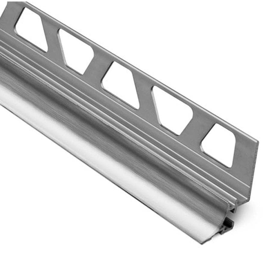 Schluter Systems Dilex-AHKA 0.5-in W x 98.5-in L Aluminum Tile Edge Trim