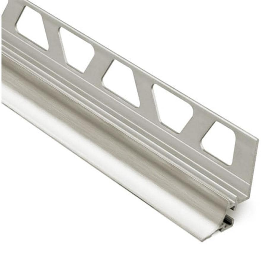 Schluter Systems Dilex-AHKA 0.313-in W x 98.5-in L Aluminum Tile Edge Trim
