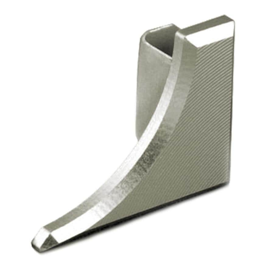 Schluter Systems Dilex-AHKA 0.25-in W x 0.5-in L Aluminum Tile Edge Trim