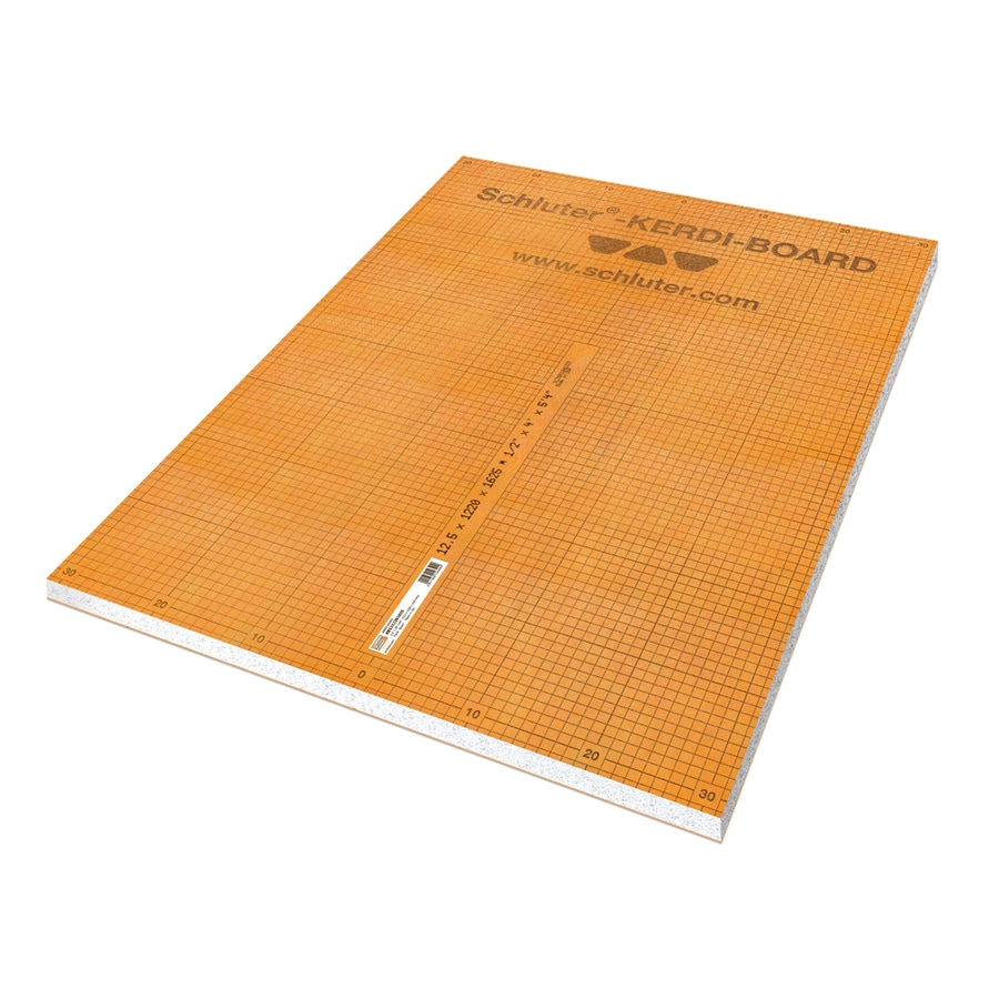 Schluter Systems Kerdi 0.5-in x 32-in x 48-in Polystyrene Foam Backer Board