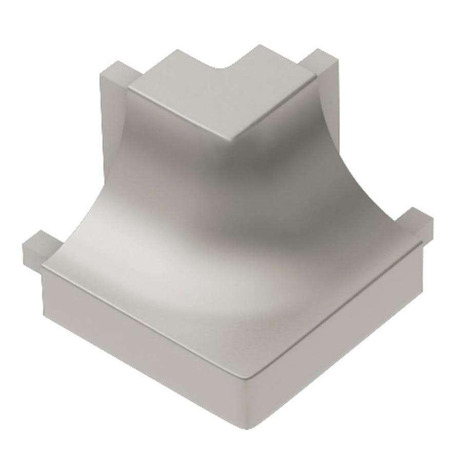 Schluter Systems Quadec 0.5-in W x 1-in L Aluminum Tile Edge Trim