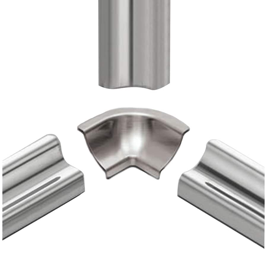 Schluter Systems 1-in W x 1.5-in L Steel Commercial/Residential Tile Edge Trim