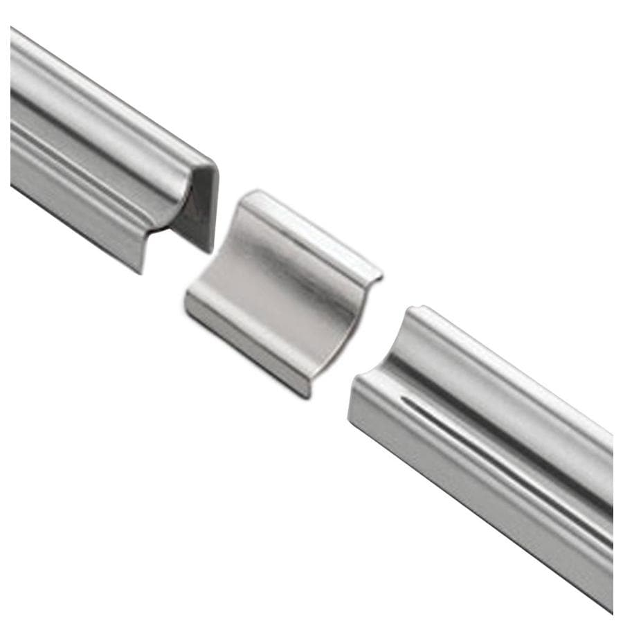 Schluter Systems Dilex-HKU 1-in W x 2-in L Steel Tile Edge Trim
