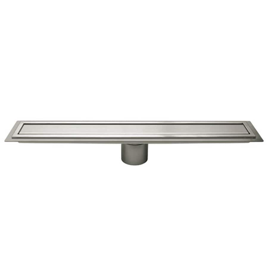 Schluter Systems 19.688-in Silver Stainless Steel Grate