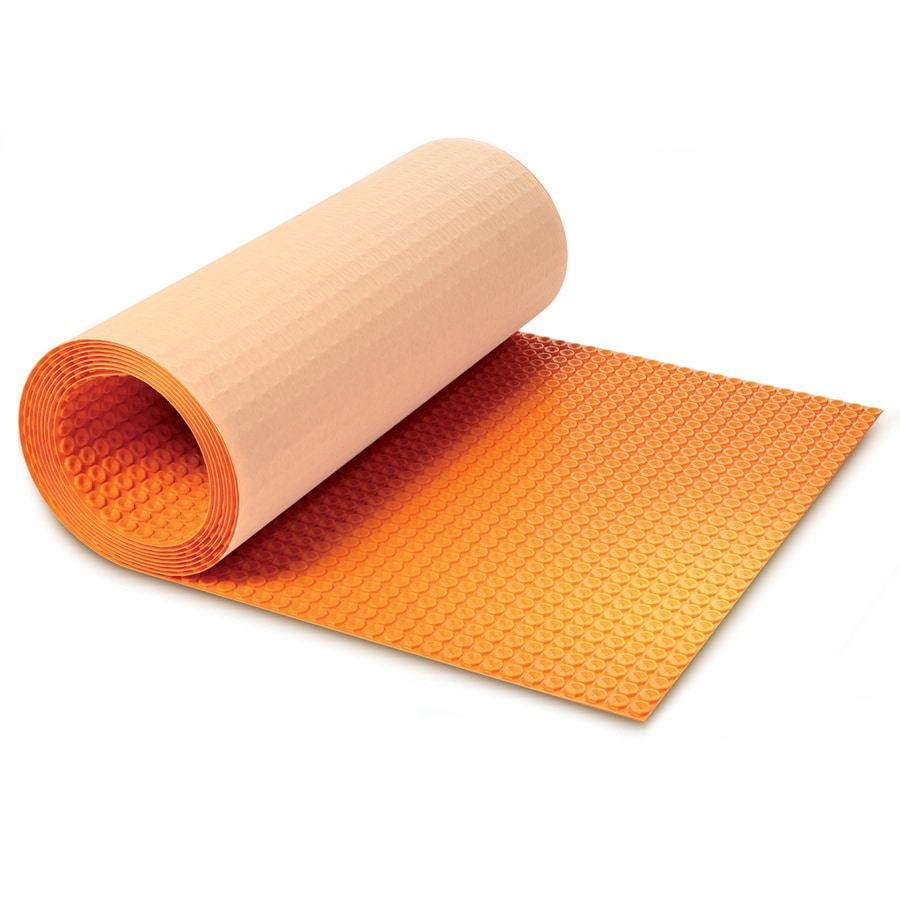 Schluter Systems 39 In X 493 In Orange Underfloor Heating Mat