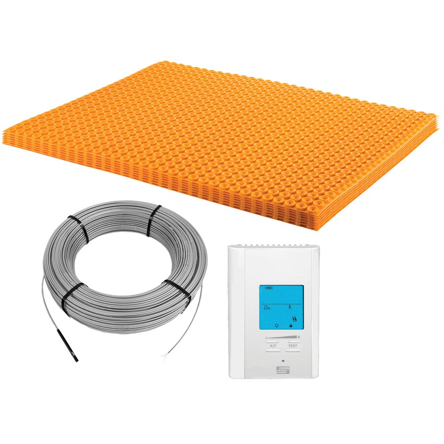Shop Schluter Systems 39 In X 31 In White 120 Volt Digital Underfloor Heating