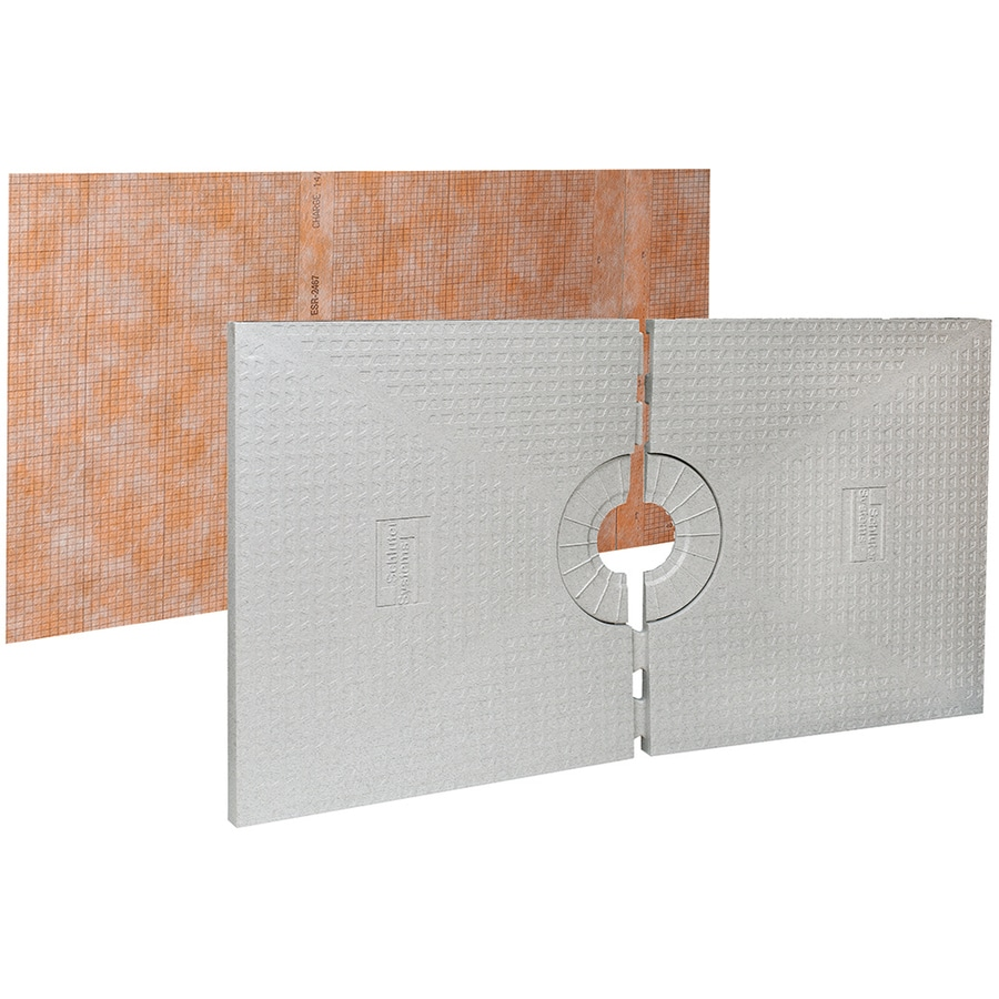 Schluter Systems Kerdi White Styrene Shower Tray