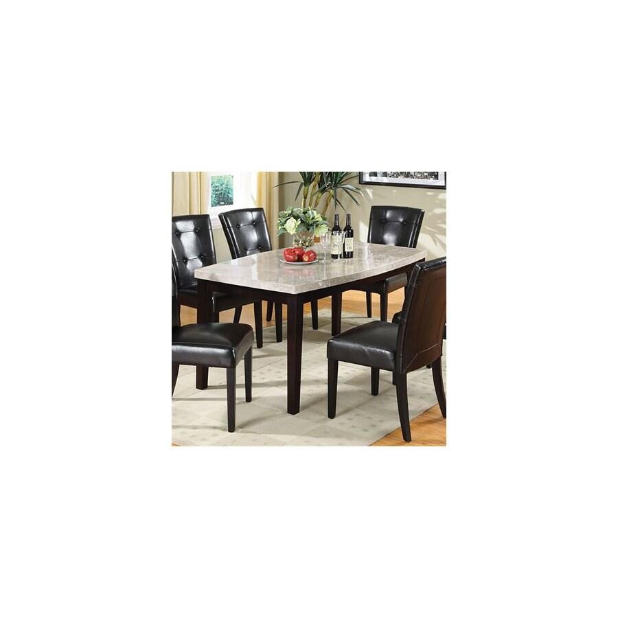 Furniture of America Marion Espresso Rectangular Dining Table