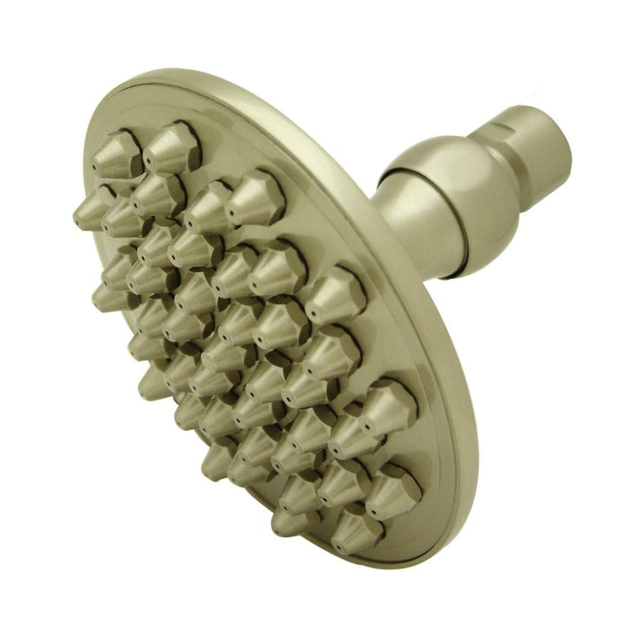 Elements of Design Hot Springs Apollo Satin Nickel Rain Shower Head