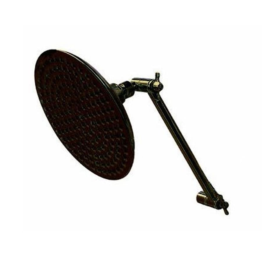 Elements of Design Victorian 7.75-in 2.5-GPM (9.5-LPM) Oil-Rubbed Bronze Rain Showerhead