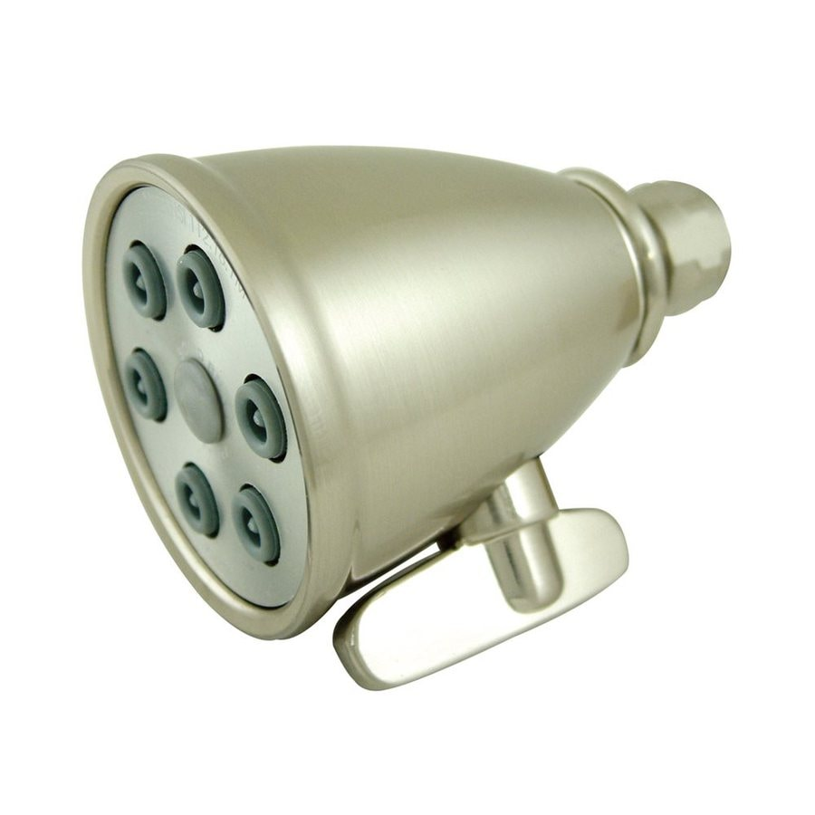 Elements of Design Victorian 3-in 2.5-GPM (9.5-LPM) Satin Nickel Showerhead