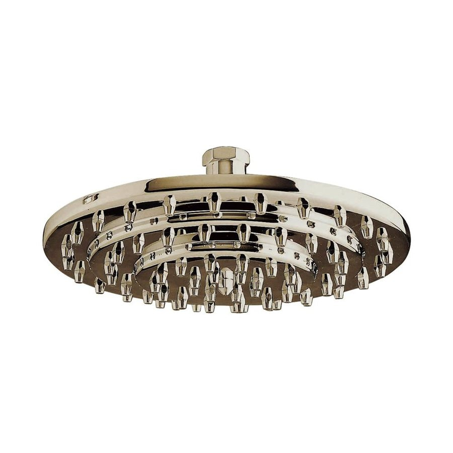 Elements of Design Milano 8-in 2.5-GPM (9.5-LPM) Satin Nickel Showerhead