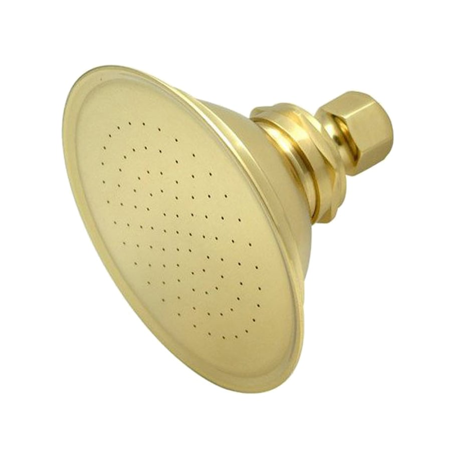 Elements of Design Victorian 4.875-in 2.5-GPM (9.5-LPM) Polished Brass Showerhead