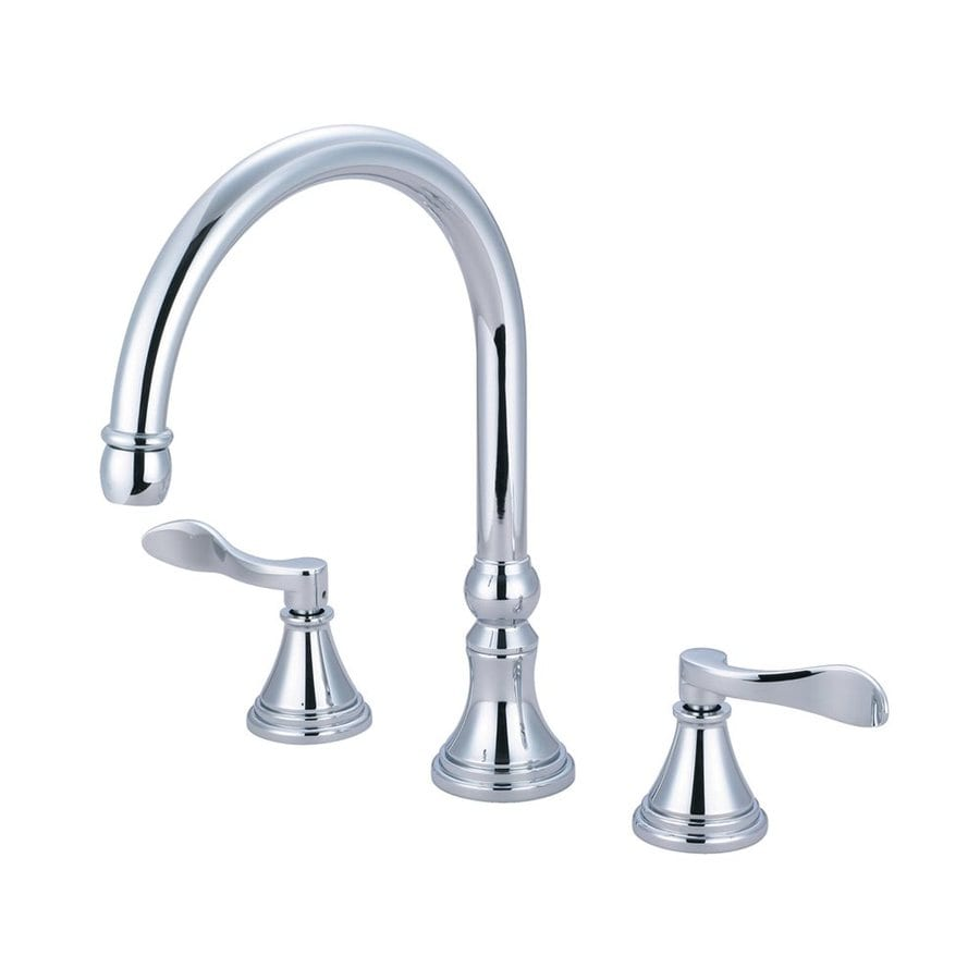 Elements of Design NuFrench Chrome 2-Handle Adjustable Deck Mount Bathtub Faucet