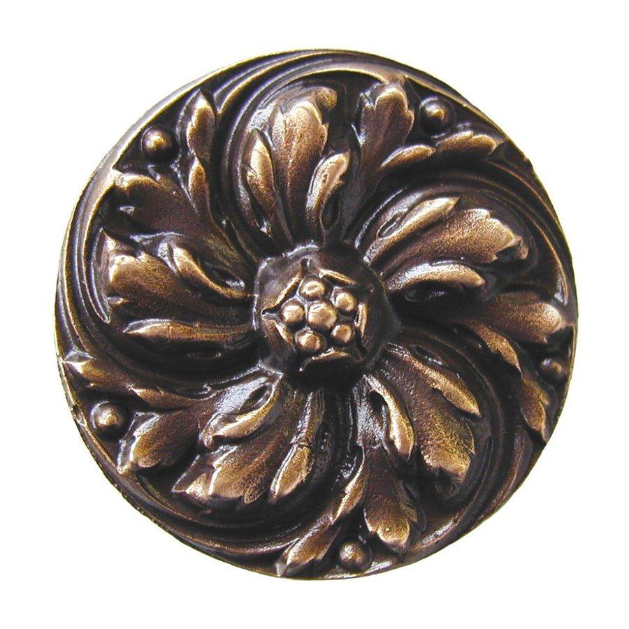 Notting Hill 1-3/8-in Bronze English Garden Round Cabinet Knob