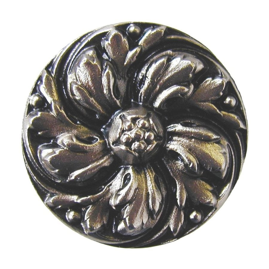 Notting Hill 1-3/8-in Nickel English Garden Round Cabinet Knob