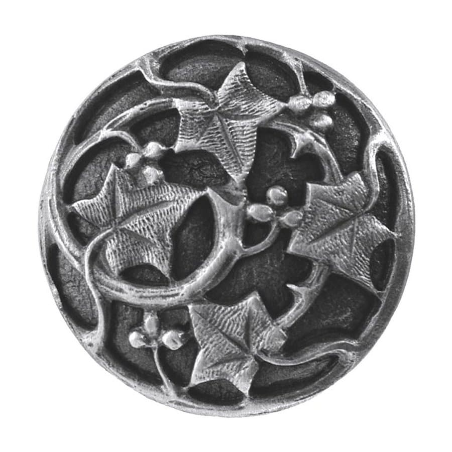 Notting Hill Ivy Antique Pewter Round Cabinet Knob
