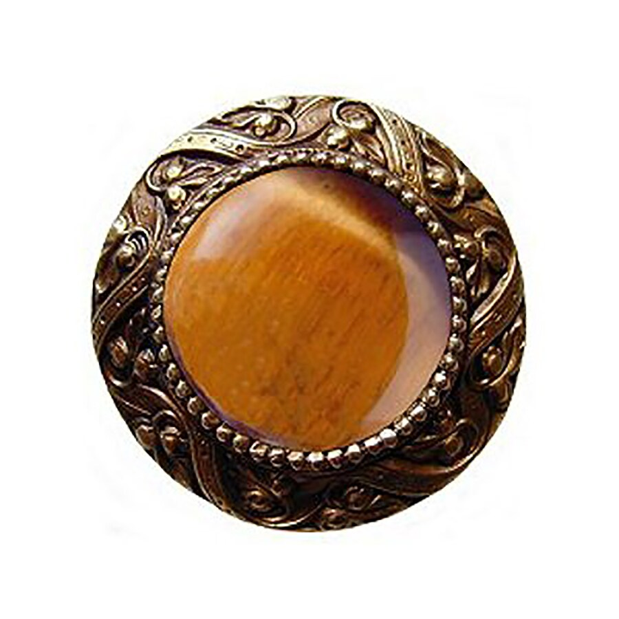 Notting Hill 1-3/8-in Brass Jewel Round Cabinet Knob