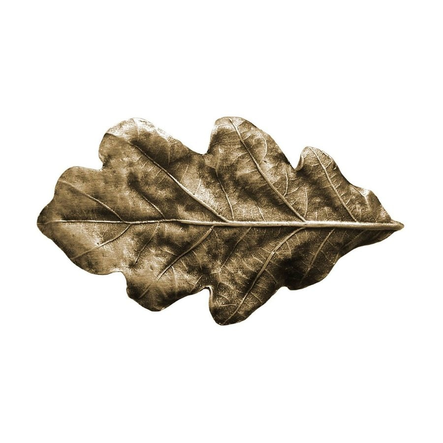 Notting Hill 2-1/4-in Brass Leaves Novelty Cabinet Knob
