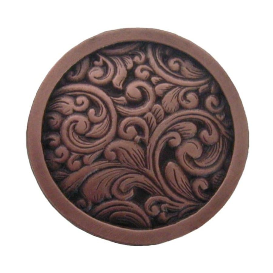 Notting Hill Sadddleworth Antique Copper Round Cabinet Knob