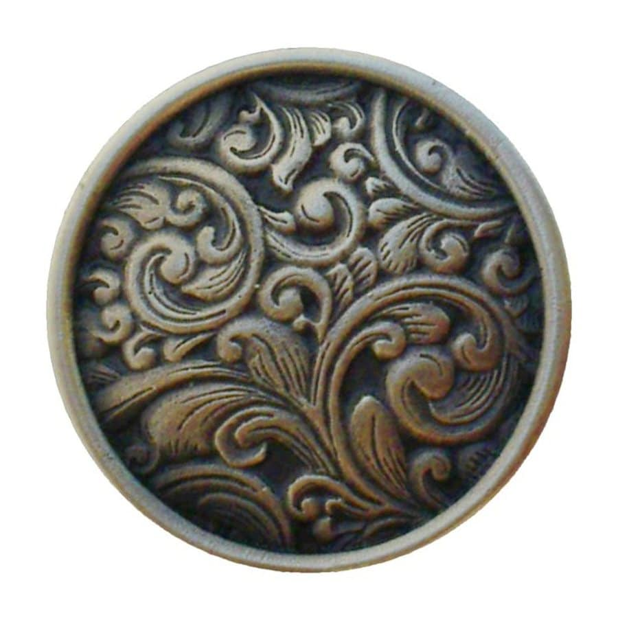 Notting Hill 1-3/8-in Bronze Classic Round Cabinet Knob