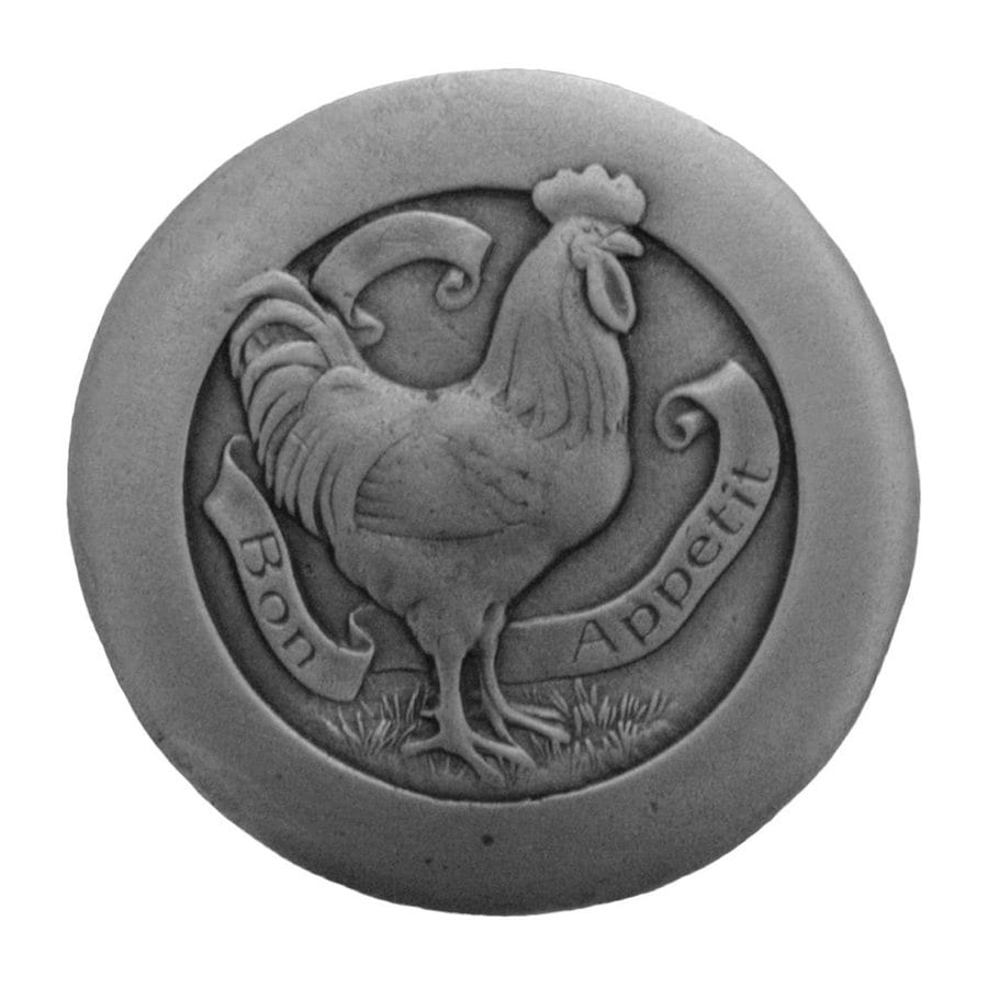 Notting Hill 1-7/16-in Pewter All Creatures Round Cabinet Knob