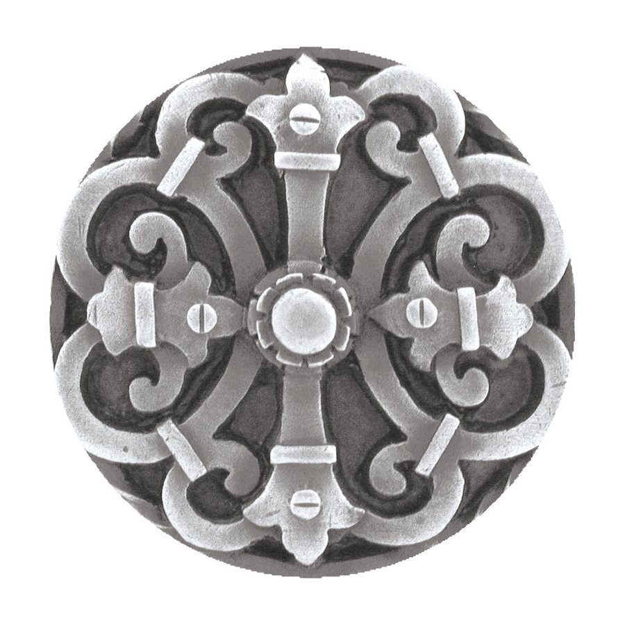 Notting Hill Chateau Antique Pewter Round Cabinet Knob