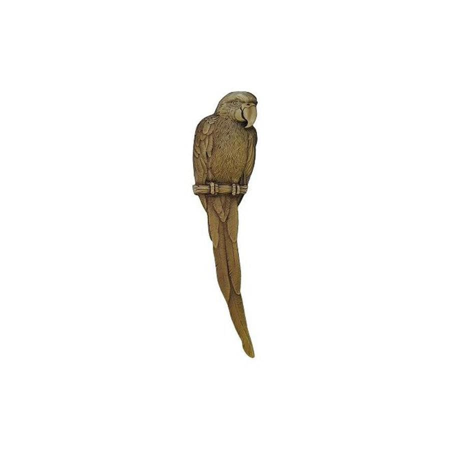 Notting Hill 3-in Center-To-Center Antique Brass Tropical Macaw Left Facing Cabinet Pull