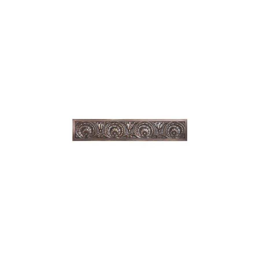 Notting Hill 4-in Center-to-Center Dark Brass Kings Road Rectangular Cabinet Pull