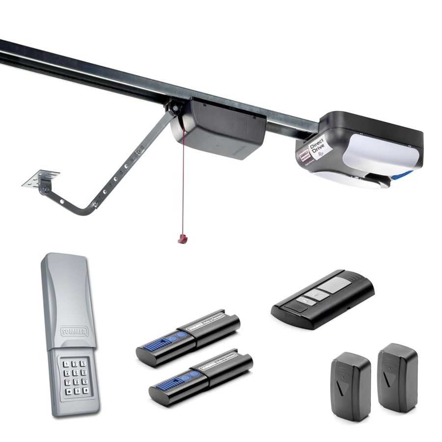 SOMMER 555 Newton Direct Drive Garage Door Opener  sc 1 st  Loweu0027s : direct doors review - pezcame.com