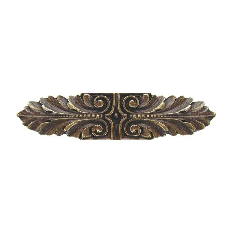 Notting Hill 3-in Center-To-Center Antique Brass Opulent Scroll Bar Cabinet Pull