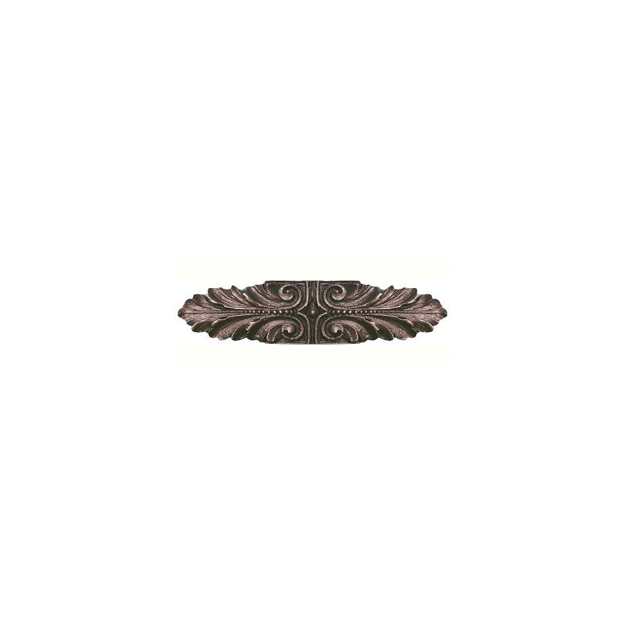 Notting Hill 3-in Center-to-Center Antique Solid Bronze Classic Cabinet Pull