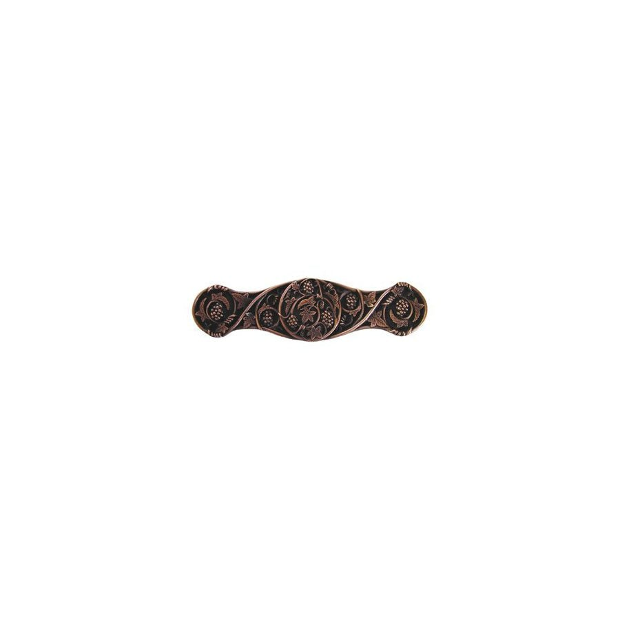 Notting Hill 3-in Center-to-Center Antique Copper Tuscan Cabinet Pull
