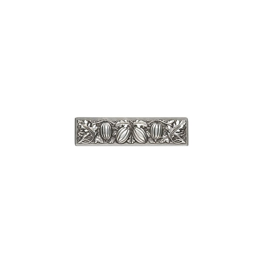 Notting Hill 3-in Center-to-Center Antique Pewter Kitchen Garden Rectangular Cabinet Pull