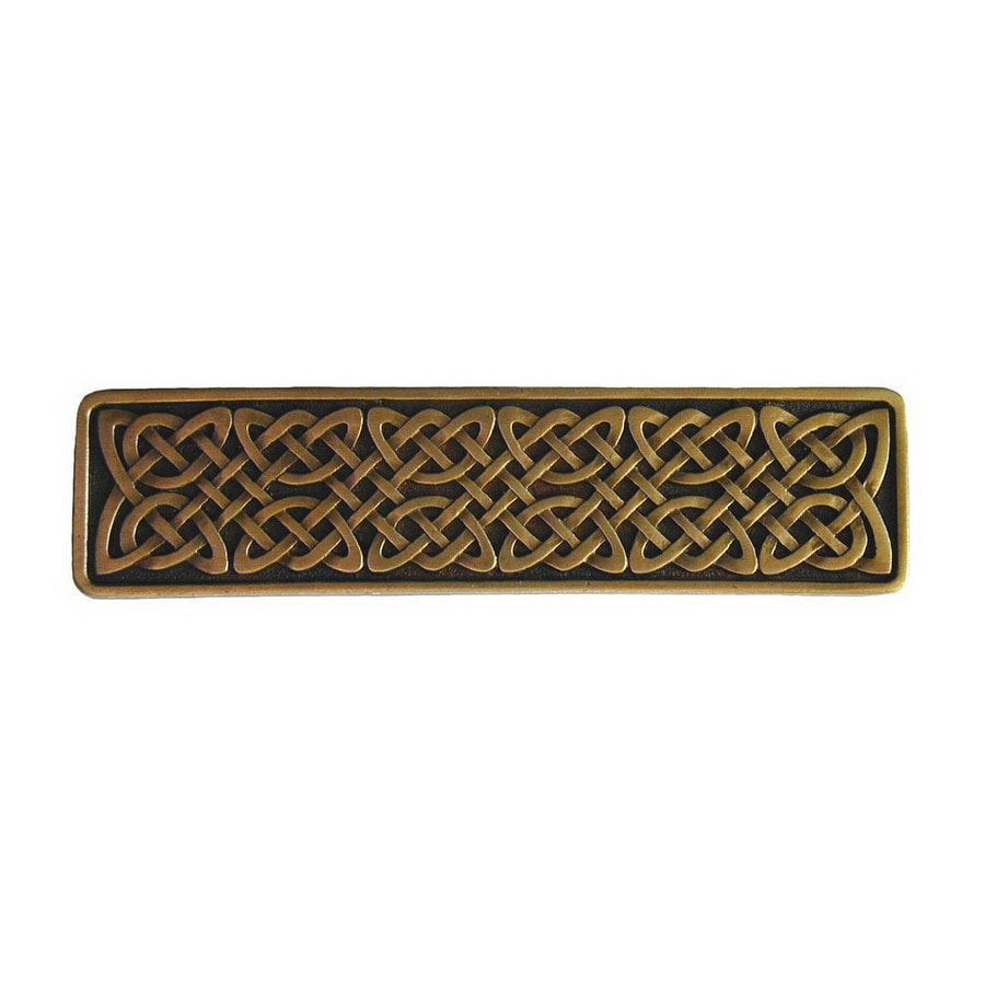 Notting Hill 3-7/8-in Brass Jewel Rectangular Cabinet Knob