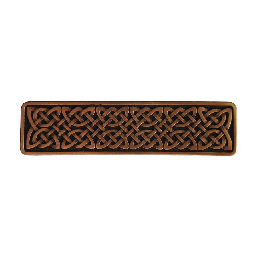 Notting Hill 3-7/8-in Copper Jewel Rectangular Cabinet Knob