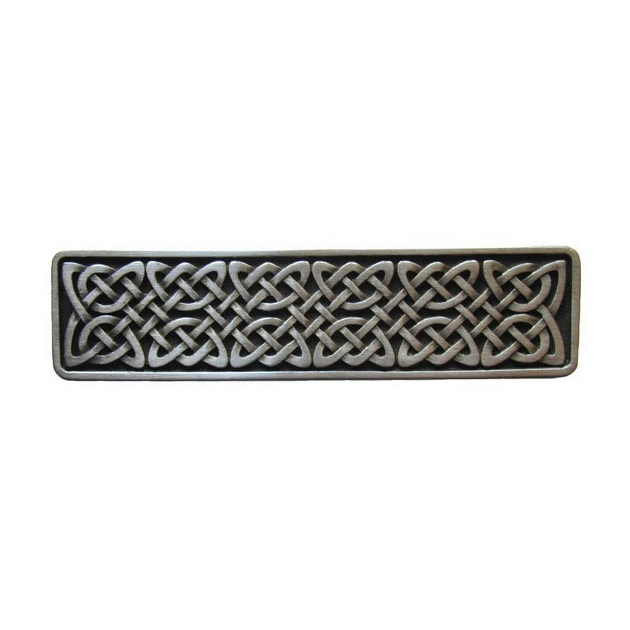 Notting Hill 3-7/8-in Pewter Jewel Rectangular Cabinet Knob