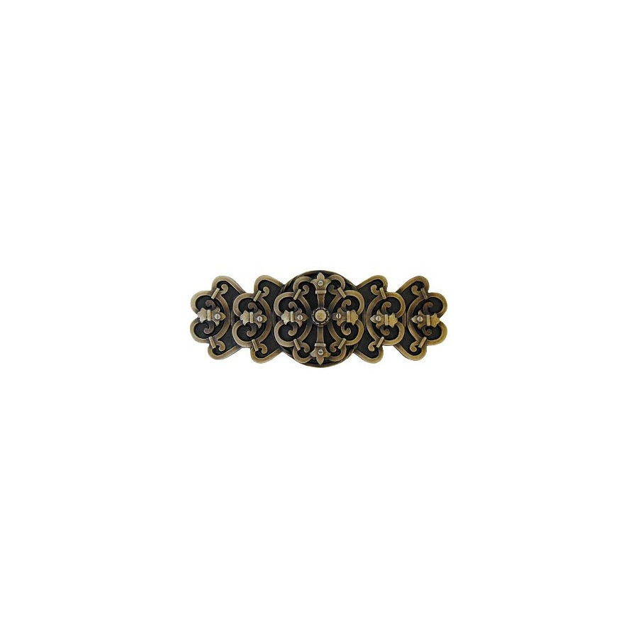 Notting Hill 3-in Center-to-Center Antique Brass Olde World Cabinet Pull