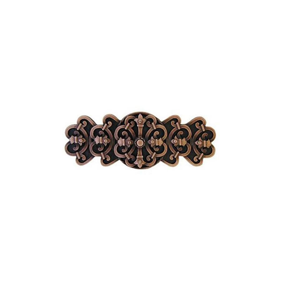 Notting Hill 3-in Center-To-Center Antique Copper Chateau Novelty Cabinet Pull