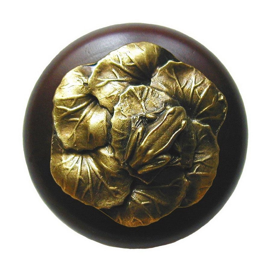 Notting Hill 1-1/2-in Brass All Creatures Round Cabinet Knob